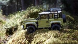 El nuevo set Technic Land Rover Defender de Lego es aún mejor que el real para los días lluviosos