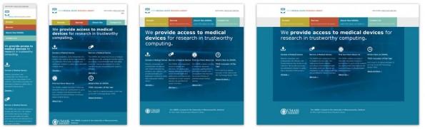 MediaQueries CSS3 Beispiel Medical