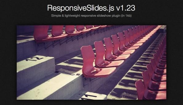 jQuery Slideshow Responsive Webdesign ResponsiveSlides
