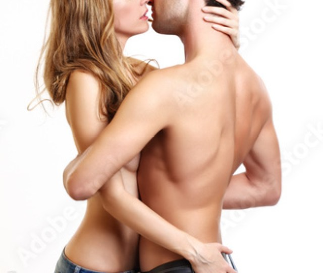 Foreplay Of A Passionate Couple