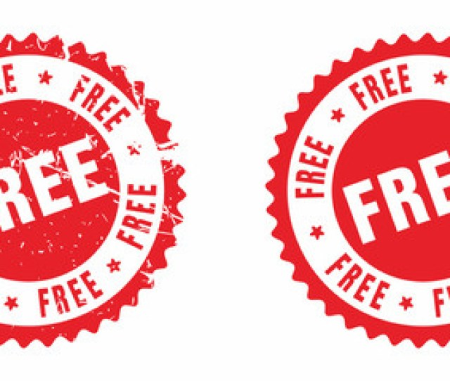 Vector Free Rubber Stamp