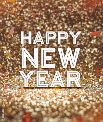 gold glitter new year backgrounds