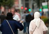 Muslima unterwegs
