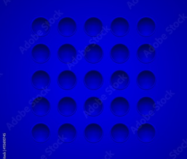 Abstract Blue Hole Texture Template Blue Wallpaper Perforated Pattern Blue Background For You