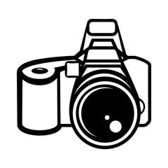 Картинка Черно Белая Фотоаппарат