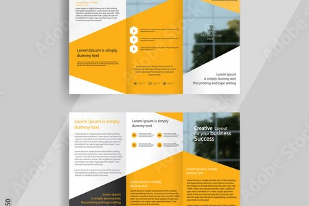 financial template for business plan brochure templates design