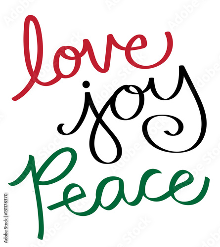 """Download """"Love Joy Peace"""" Stock image and royalty-free vector files ..."""