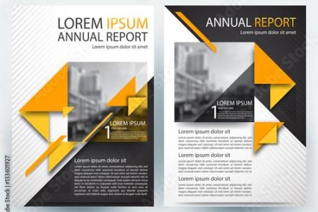 financial template for business plan modern brochure design templates