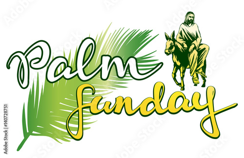 Palm Sunday Religious Clip Art