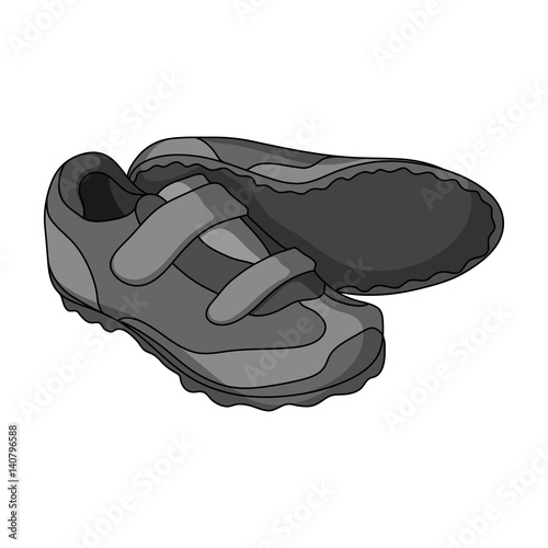 Shoes for cyclists. Special cycling for cycling.Cyclist outfit single ...