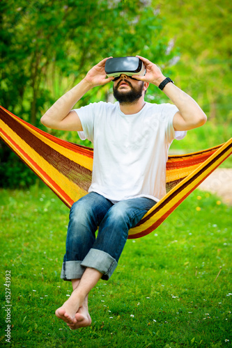 Bearded Man Hammock