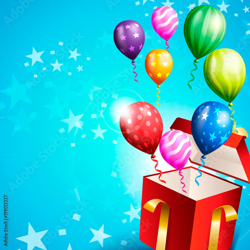 Birthday Invitation Card Birthday Background Stock