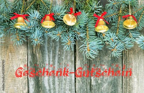 Weihnachten, Geschenk, Gutschein, Geschenk-Gutschein, Last-Minute
