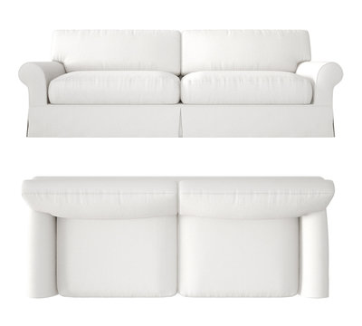 couch top view photos royalty free