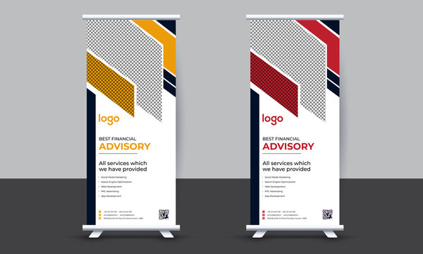 Browse our roll up banner design images, graphics, and designs from +79.322 free vectors. 357 Best Retractable Banner Images Stock Photos Vectors Adobe Stock