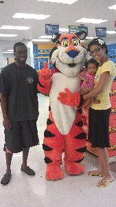 Look Who We Saw at Walmart
