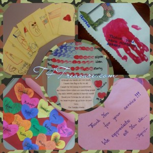 2014 Veterans Day Thank You Cards from TDs' schoool
