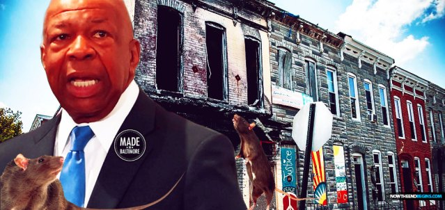 President Trump prompted outrage when he described Congressman Elijah Cummings Baltimore 7th District as a, 'disgusting, rat and rodent infested mess'