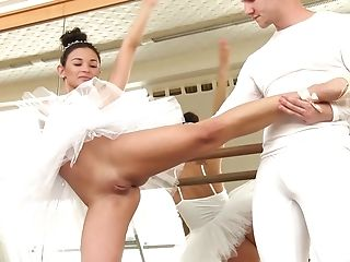 Horny Ballerina Adela Offers Her Figure To A Marvelous Paramour