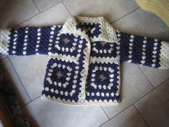 giacchino, crochet, Aquilana, Barbara Fiorentini