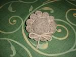 porta pastiglie, uncinetto, lana d'abruzzo