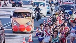 箱根駅伝2018にアンパンマン号が!整備不良で警察に捕まる?画像