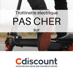 Trottinette électrique PAS CHER chez Cdiscount