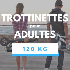 Trottinette électrique pour Adulte de 120KG