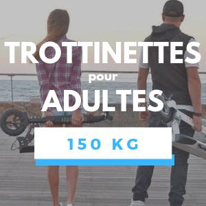 Trottinette électrique pour Adulte de 150KG