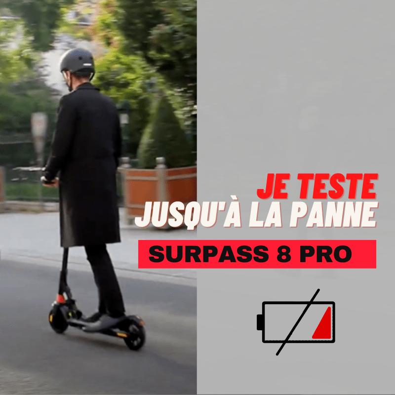 Autonomie Surpass 8 Pro