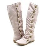 KIKO white boots
