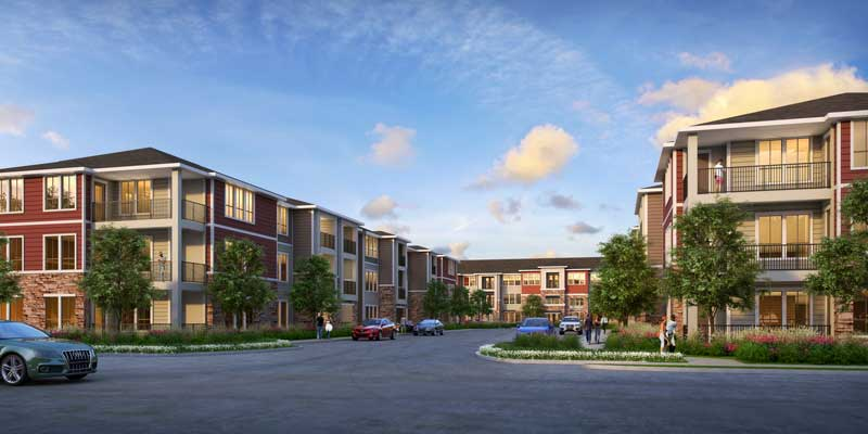 AMTEX affordable housing Green Oaks Apartments breaking ground Nov 14th