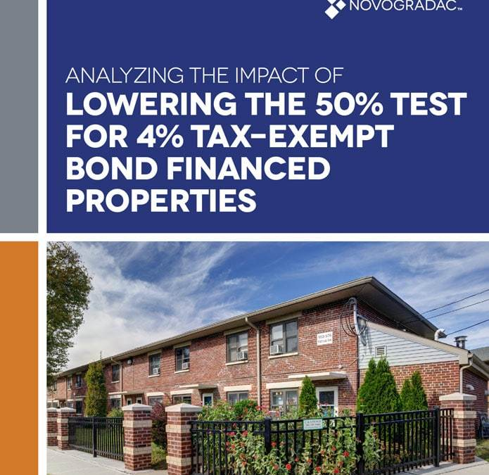 4% Tax-Exempt Bond-Financed Properties