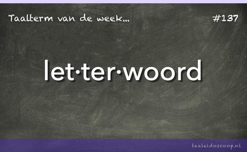 TVDW: Letterwoord