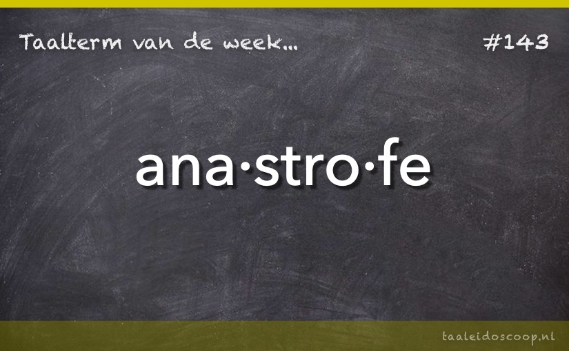 TVDW: Anastrofe
