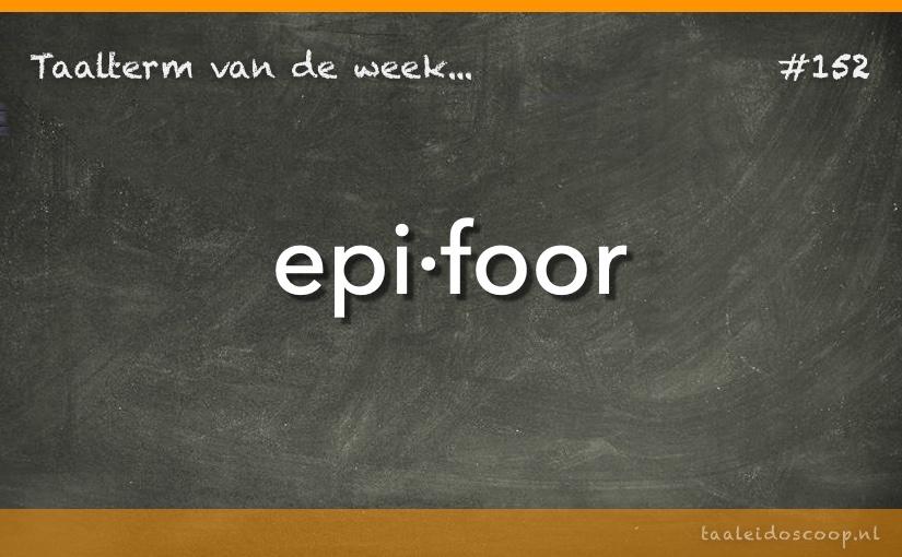 TVDW: Epifoor