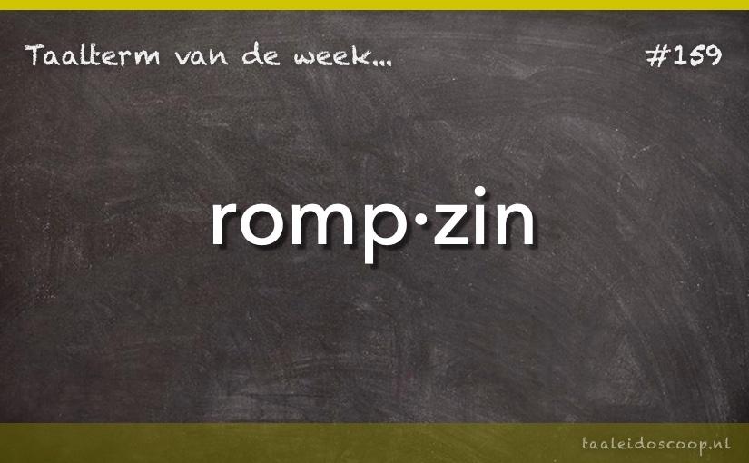TVDW: Rompzin