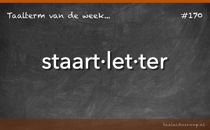 TVDW: Staartletter