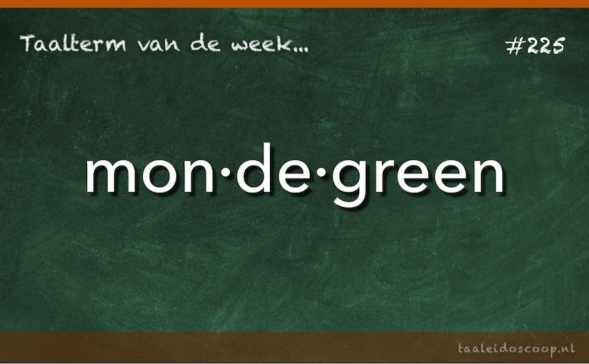 Taalterm van de week: Mondegreen