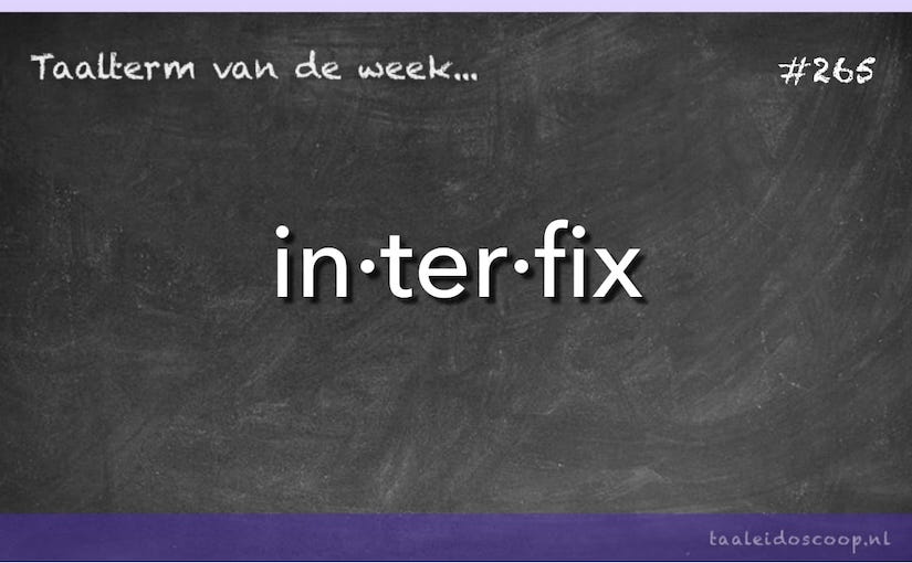 Taalterm: Interfix