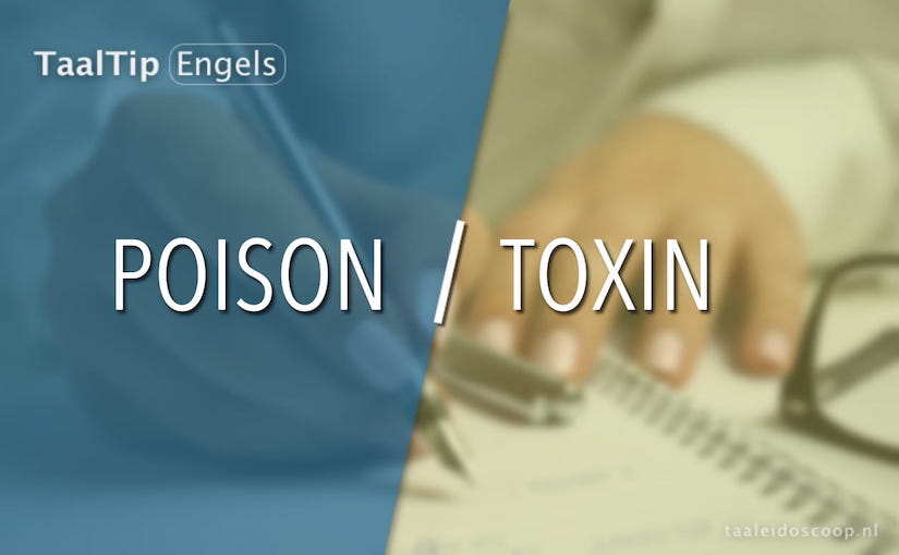 Poison vs.toxin
