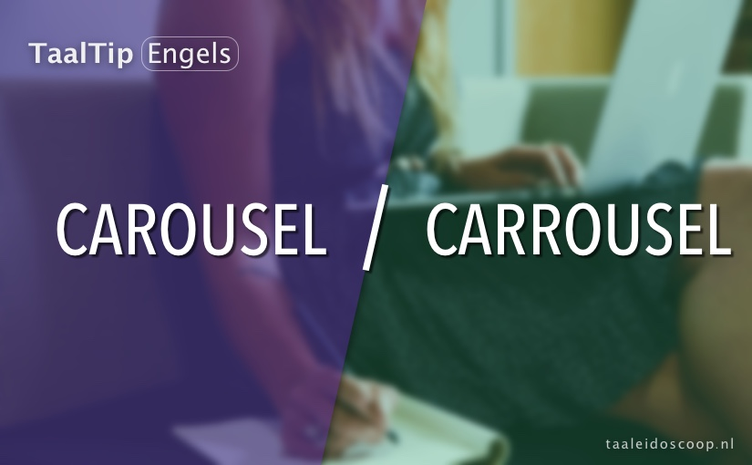 Carousel vs. carrousel