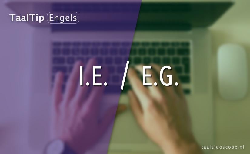 I.e. vs. e.g.