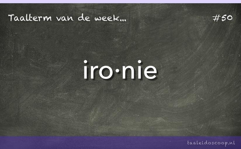 TVDW: Ironie