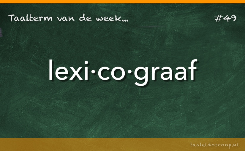 TVDW: Lexicograaf