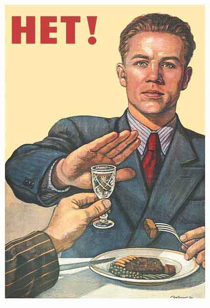 """Zegt de Rus zegt """"Nee!"""" tegen drank én taalverandering?"""