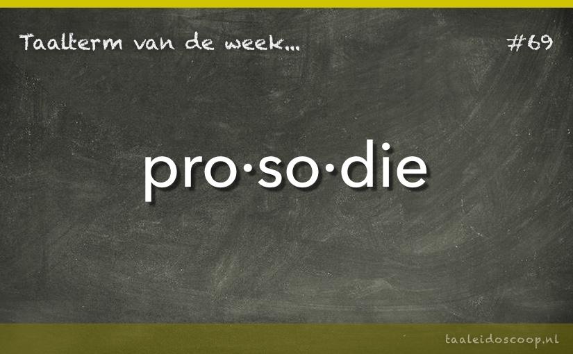 TVDW: Prosodie