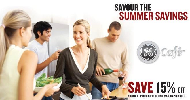 GE Cafe Summer Savours facebook
