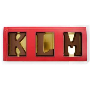 Chocolade letters in-luxe-hoes