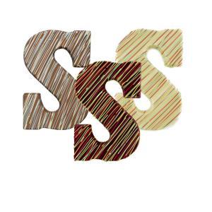 ColorFun Chocolade Letter